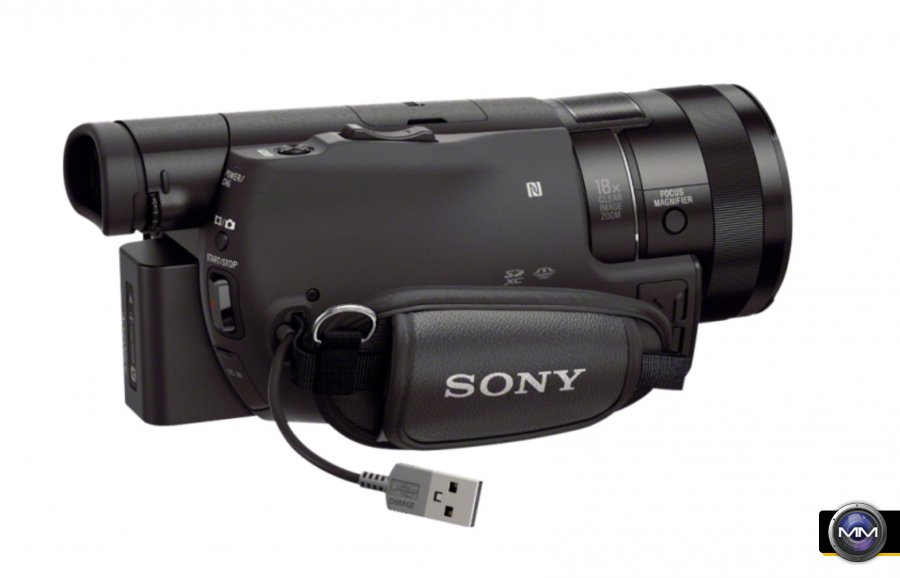 sony fdr ax100 affordable 4k consumer camcorder. Black Bedroom Furniture Sets. Home Design Ideas