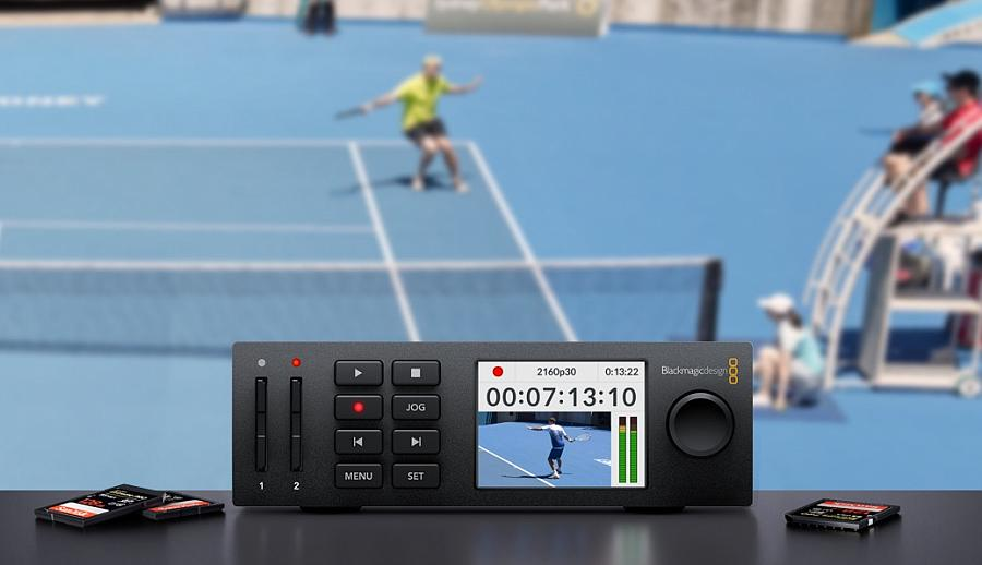 New Hyperdeck Studio Mini Miniaturized Broadcast Deck By Blackmagic Design
