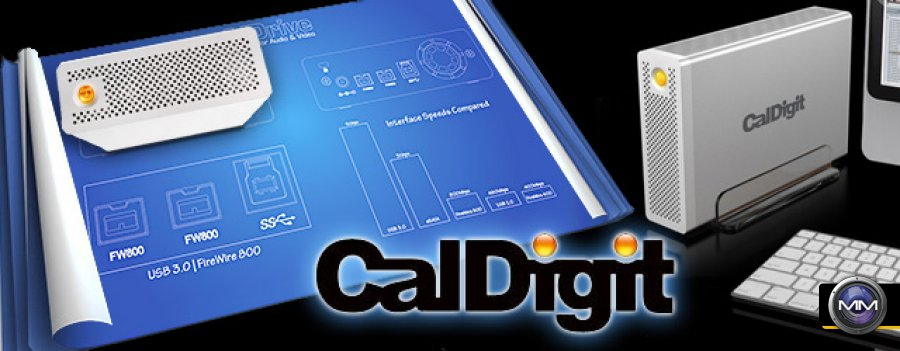 The Caldigit AV Pro - Fastest Single Drive Storage