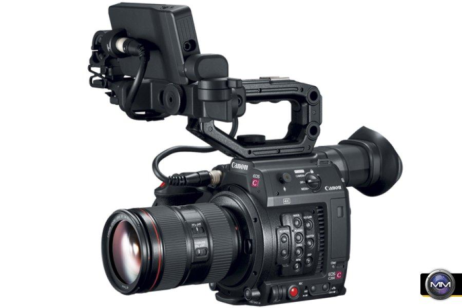 Canon EOS C200 with new Cinema Raw Light