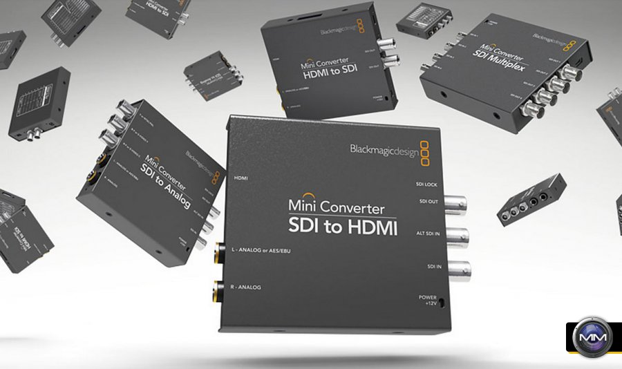 Blackmagic Design Announces 3 New Mini Converters With 6g Sdi For Ultra Hd Workflows
